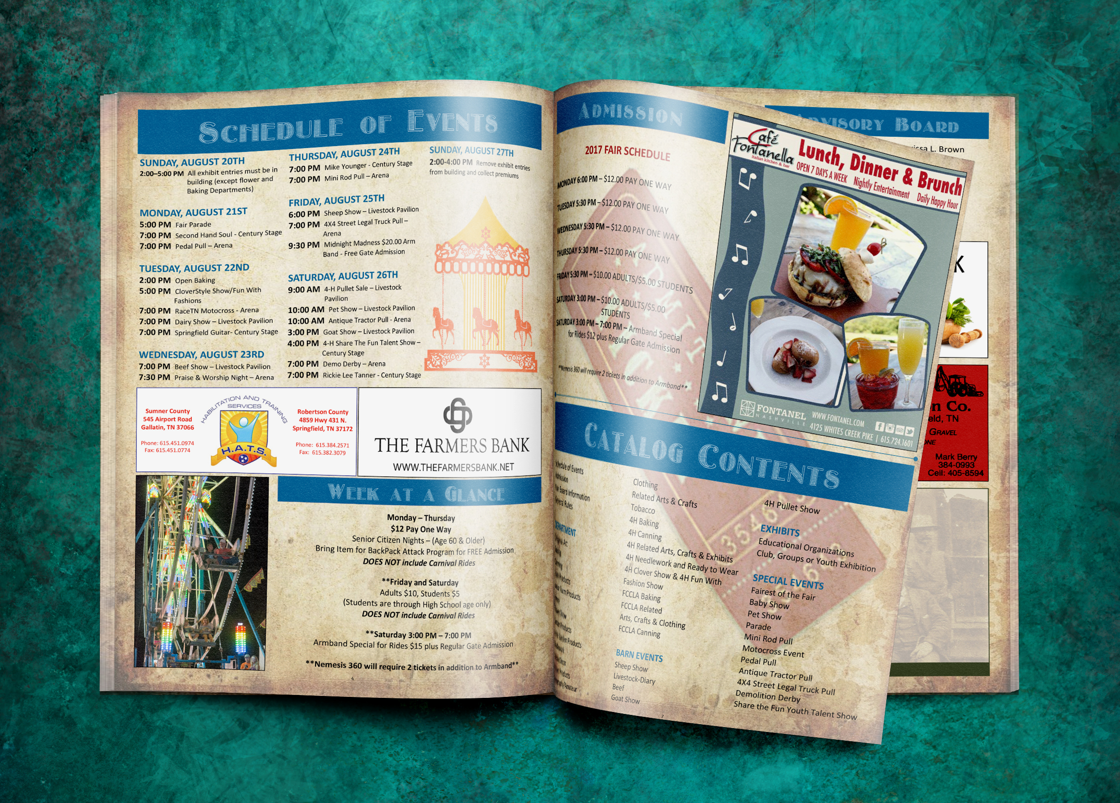 Robertson County Fair Catalog MockUp