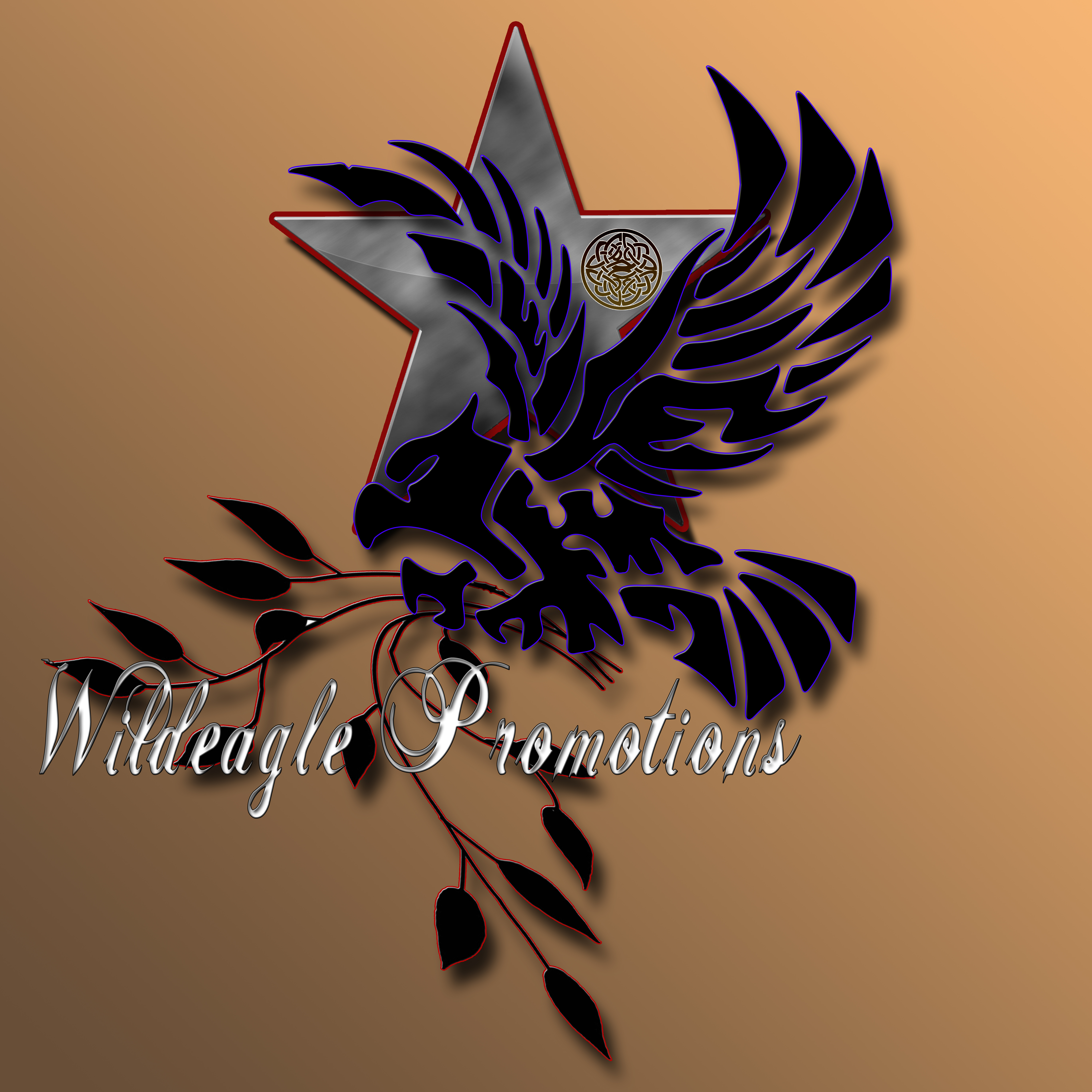 wildeagle promotions concept logo