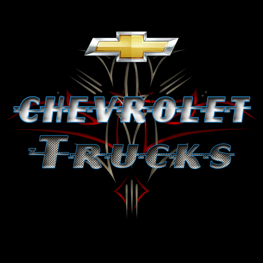 Chevy truck sticker 2