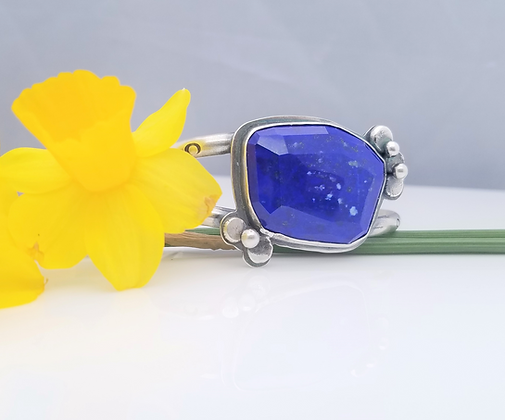 Lapis Lazuli Cuff Bracelet