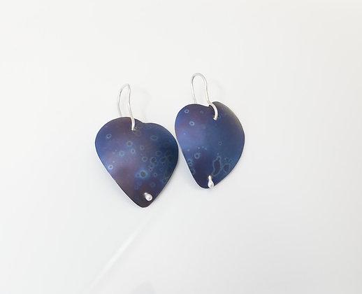 Titanium Heart Earrings - Pair 2