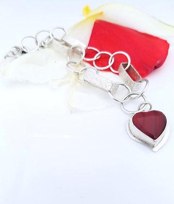 Rosarita Hearts For Heroes Bracelet