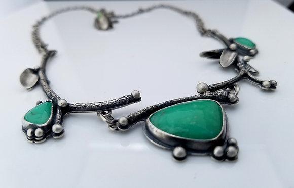 Chrysoprase Necklace No.3