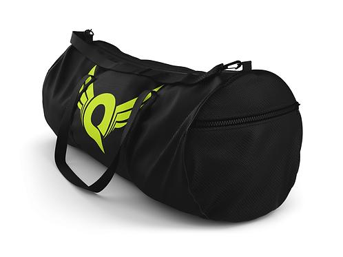 Q Logo Duffel Bag (Black/Yellow)