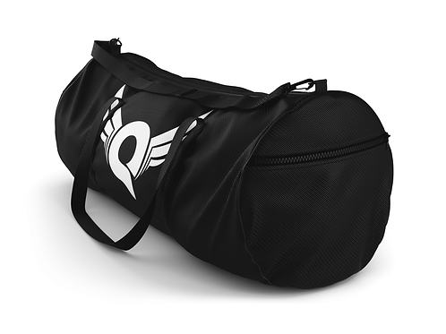 Q Logo Duffel Bag (Black/White)