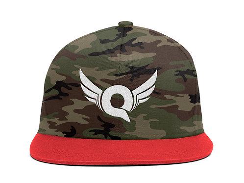 Q Logo (Camo/Red)