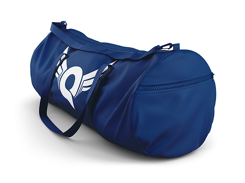 Q Logo Duffel Bag (Navy)