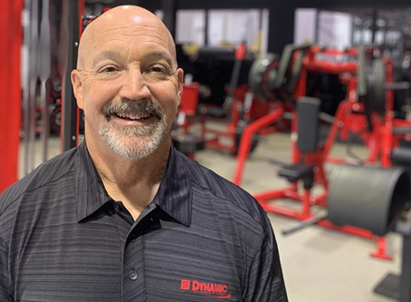 DYNAMIC FITNESS & STRENGTH SALES MANAGER HONORED BY TEXAS A&M-COMMERCE