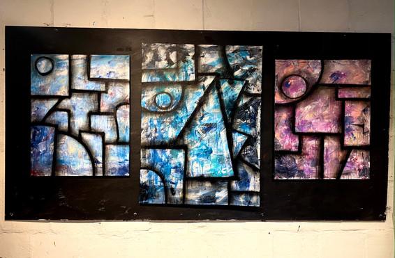 Three Paintings (Spectators).JPG