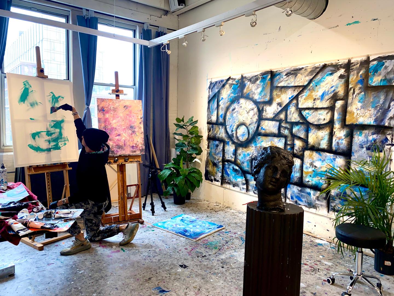 Painting the Series (Spectators II)