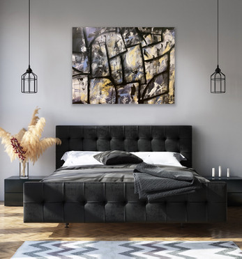 Dark & Stormy (On Wall)