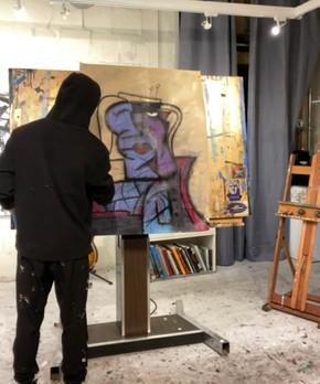 Portrait Study (Behind-the-Scenes)