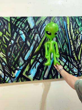Alien's Home