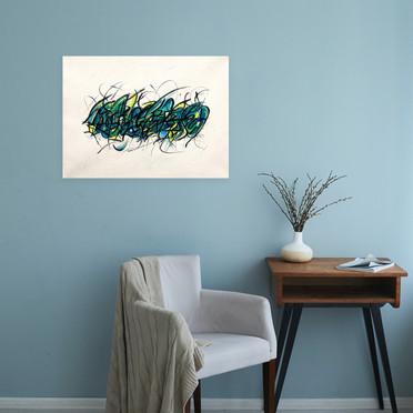 Deep Ocean (On The Wall)