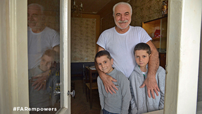Meet Roitman, a Single Father, Aided by We Are Artsakh