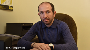 FAR Scholarship Alumnus Now Employs More than 55 People in Armenia