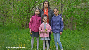 Because of You, Alvard and Her Daughters Didn't Go to Sleep Hungry
