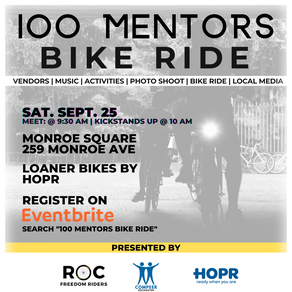 Roc Freedom Riders and Compeer Rochester Create 100 Mentors Bike Ride