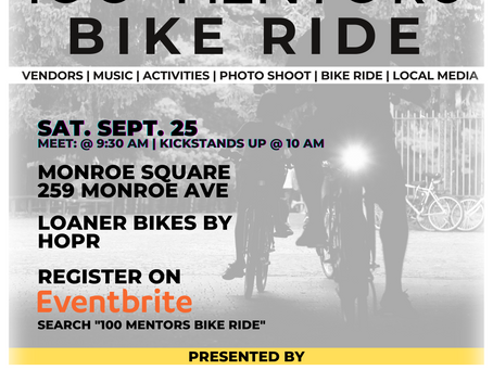 [Placement] Roc Freedom Riders Host 100 Mentors Bike Ride