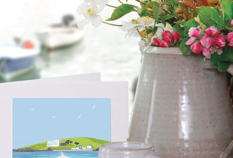 BURGH ISLAND DEVON CARD