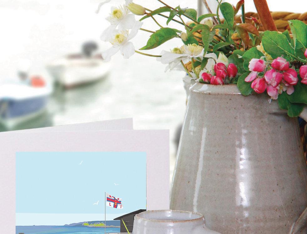 SENNEN BEACH CORNWALL CARD
