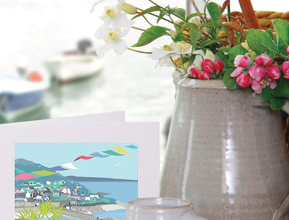 MOUSEHOLE CORNWALL CARD
