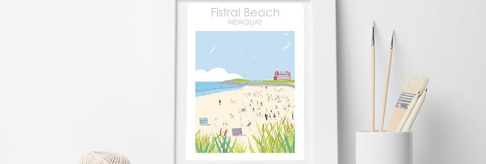 FISTRAL BEACH PRINT