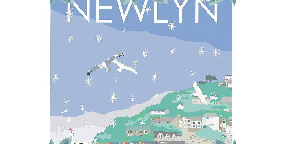 Set of 4 Newlyn Christmas Cards