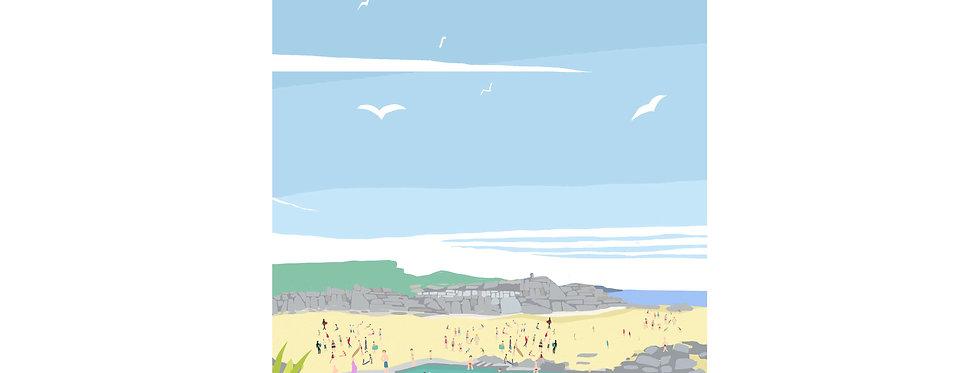 BUDE SEA POOL PRINT X3 WHOLESALE