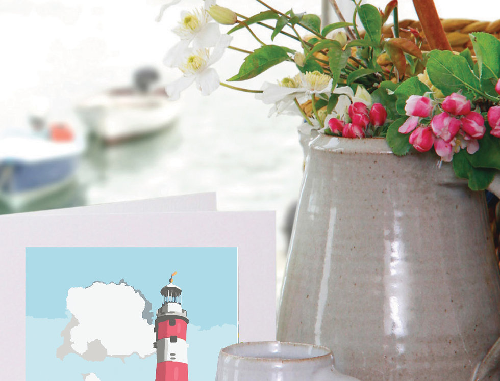 SMEATON'S TOWER PLYMOUTH CARD