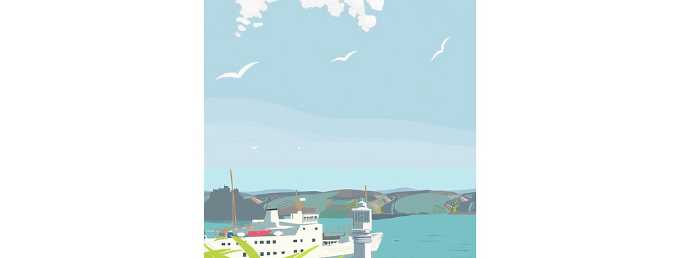 MOUNTS BAY & SCILLONIAN PRINT X3 WHOLESALE