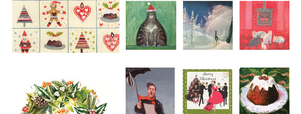 Set of 14  Christmas Cards