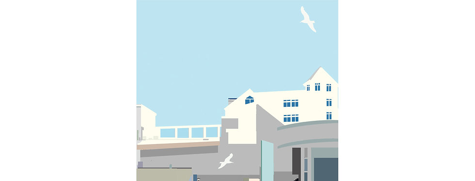 TATE ST IVES PRINT WHOLESALE X 3