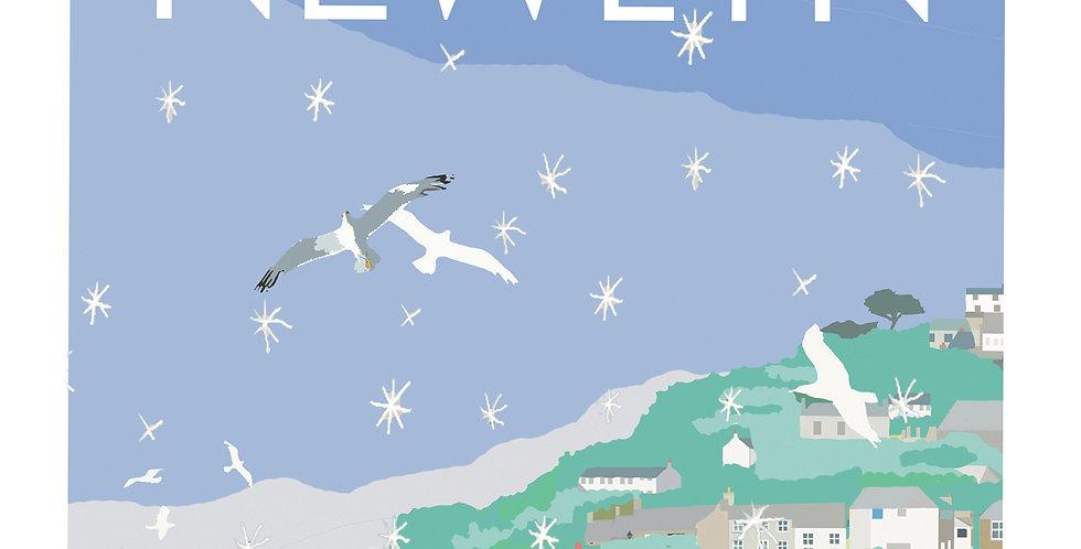 Newlyn Christmas Card pack 5