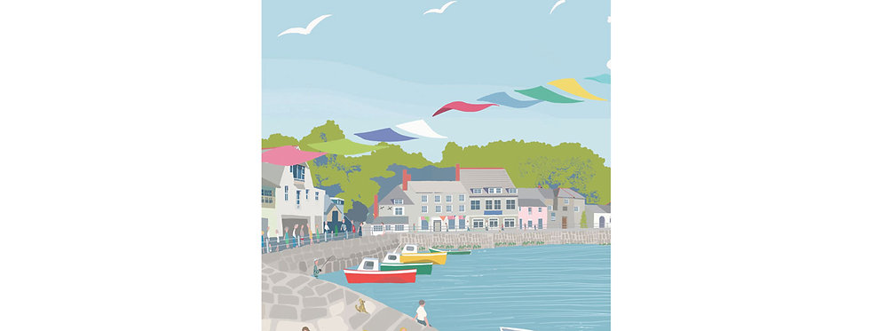 PADSTOW  PRINT WHOLESALE X 3