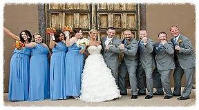 North Carolina wedding DJ, wedding party, bride, groom