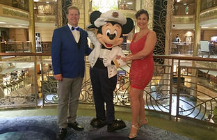 Pete and Geana Welter, Disney DJ