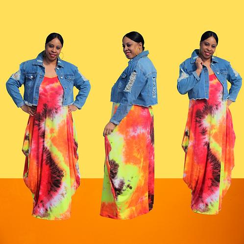 Sunkist Maxi Dress