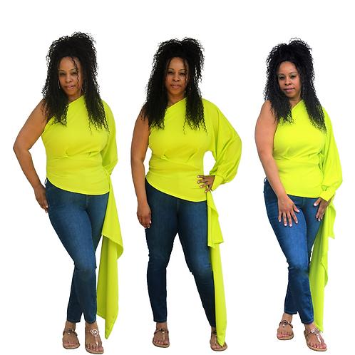 Klassy Lime Top