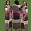 Thumbnail: Color Block Cardigan Set