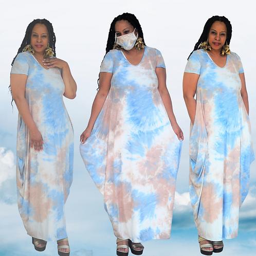 Soft Blends Maxi Dress