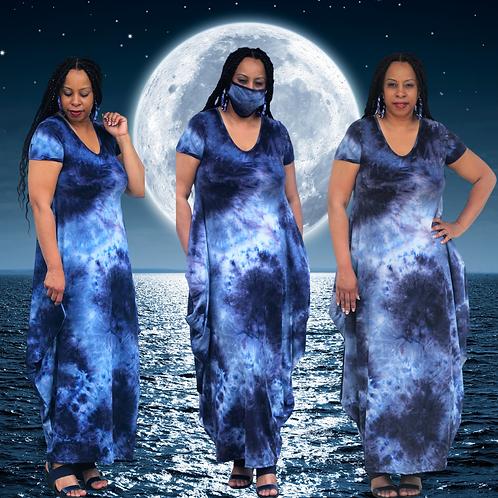 Moonlight Tie Dye Maxi