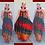 Thumbnail: Tri Fire Maxi Dress