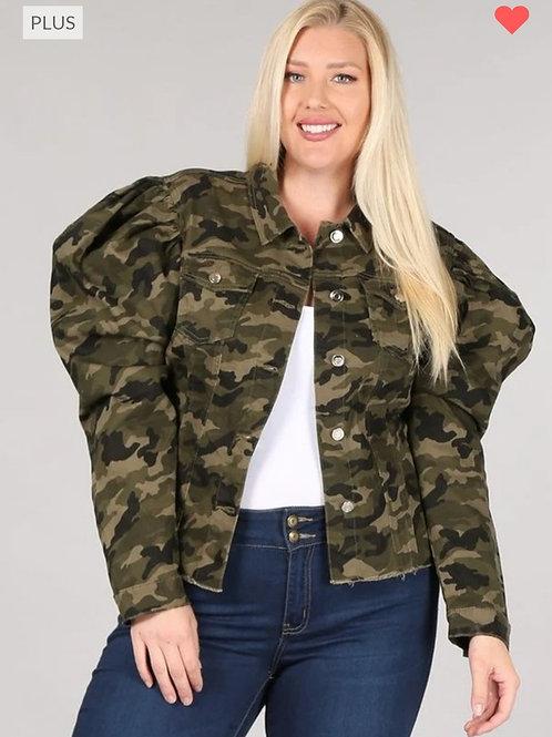 Camo Plus Jacket