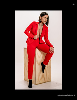 Simply Comfy in Red - Mob Journal Magazine