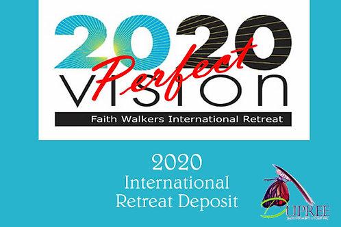 2020 International Retreat Payment
