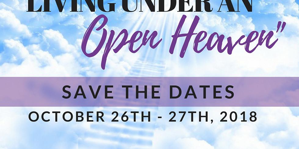2018 Faith Walkers Women' Retreat: Living Under An Open Heaven