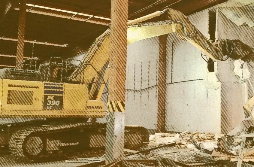 excavator shear attachement