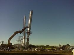 tower demolition shear