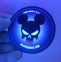 LE Glow in the Dark Punisher Mickey